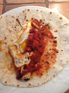 chili for breakfast