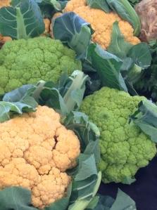 green-yellow cauliflower
