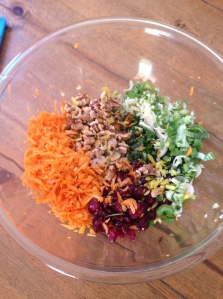 carrot slaw ingredients