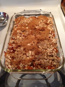fruit crisp baked