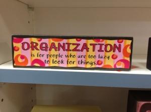 organization sign